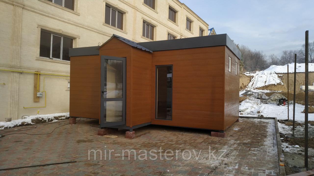 Модульное офисное помещение общей площадью 20 м². VOLANDS.