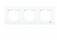 Рамка для розеток и выключателей горизонтальная KARRE BZ 3LU YATAY CERC (рамка X 3)