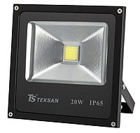 Прожектор LED TS020 20W 6000K ЧЕРНЫЙ (TS)