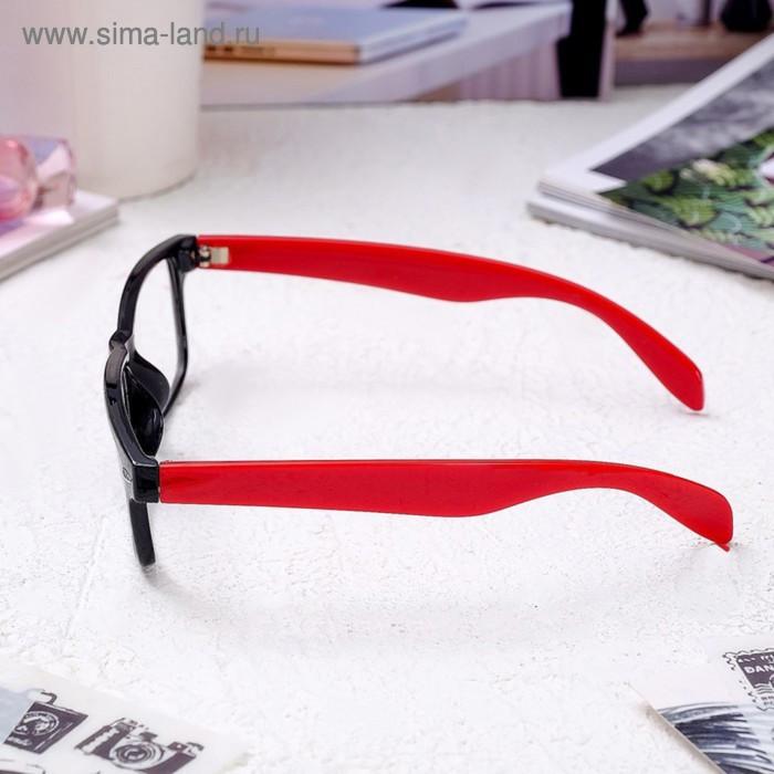 Очки корригирующие 6619, размер 14,1х13,5х4, цвет красно-чёрный, -3 - фото 3