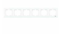 Рамка для розеток и выключателей горизонтальная KARRE BZ 6LU YATAY CERC (рамка X 6)