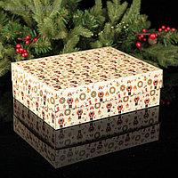 """Коробка на 12 капкейков """"Щелкунчик"""", 32,5 х 25,5 х 10 см"""