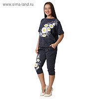 Комплект женский (футболка, бриджи) ТК-214г цвет МИКС, р-р 50