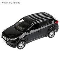 Машина металлическая Hyundai Creta 12 см, открываются двери и багажник, инерционная