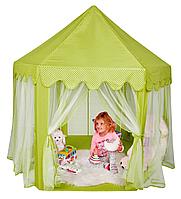 Детская игровая палатка Принцесса 555 зеленый