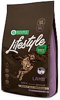 456731 Nature s Protection GF LifeStyle Lamb, корм для взрослых собак всех пород с ягнёнком, уп.1,5 кг.