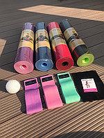 Наборы для фитнеса, коврики, тканевые резинки
