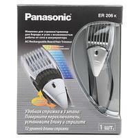 Триммер Panasonic ER206-K, 1 насадка, 2-18 мм, чёрный