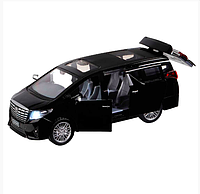 Металлическая машинка минивэн Toyota Alphard Тойота Альфард