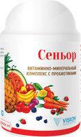 БАД Сеньор — комплекс витаминов и минералов для взрослого человека с бифидумбактериями.