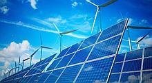 Гибридное солнечная электростанция на 3 кВт