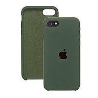 Силиконовый чехол для iPhone 7 / 8 / SE (2020),Тёмно-зелёный,Silicone Case