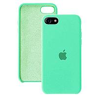 Силиконовый чехол для iPhone 7 / 8 / SE (2020), Мятный, Silicone Case