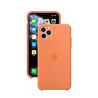 Силиконовый чехол для Apple iPhone 11 Pro Max, персиковый, Silicone Case