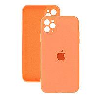 Силиконовый чехол для Apple iPhone 11 Pro, персиковый, Silicone Case