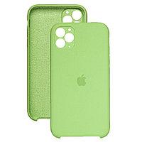 Силиконовый чехол для Apple iPhone 11 Pro,Оливковый,Silicone Case