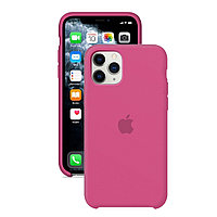 Силиконовый чехол для Apple iPhone 11 Pro Max,Тёмно-розовый,Silicone Case
