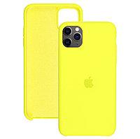 Силиконовый чехол для Apple iPhone 11 Pro,Жёлтый,Silicone Case
