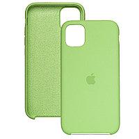 Силиконовый чехол для Apple iPhone 11 Pro, Оливковый, Silicone Case