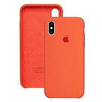 Силиконовый чехол для Apple iPhone XS Max, Морковный, Silicone Case