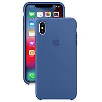 Силиконовый чехол для Apple iPhone XS Max, Аквамарин, Silicone Case