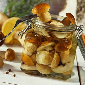 грибы консервированные