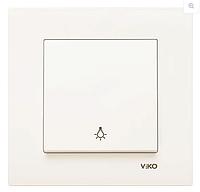 Электрический выключатель KARRE KREM LIGHT (кнопочный выкл.) 1