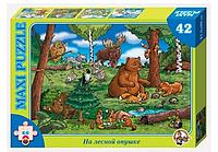 """Пазл-42 макси """"На лесной опушке"""""""