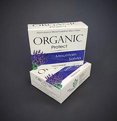 Натуральное мыло ORGANIC PROTECT  Mountain Salvia (шалфей)