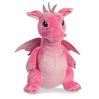 Мягкая игрушка Aurora 170415A Дракон розовый, 30 см