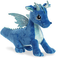 Мягкая игрушка Aurora 170619A Дракон синий, 30 см