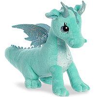 Мягкая игрушка Aurora 170619B Дракон мятный, 30 см