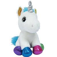 Мягкая игрушка Aurora 171136D Единорог разноцветный, 20 см