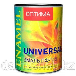 Эмаль ПФ-115 желтая 2,7 Оптима