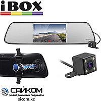 Автомобильный Видеорегистратор iBOX Compass Dual / 2 Камеры / Full HD