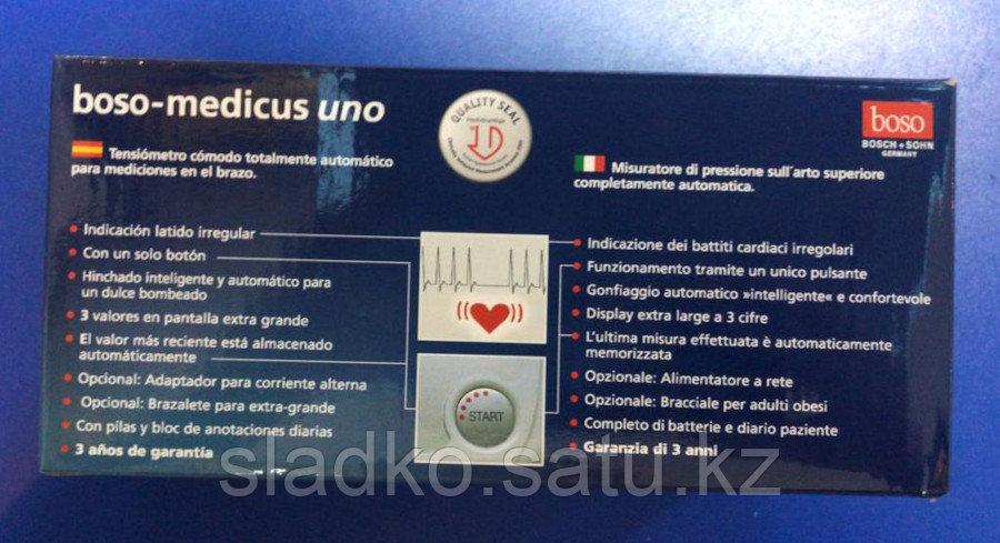 Тонометр измеритель артериального давления Boso-medicus uno оригинал - фото 2