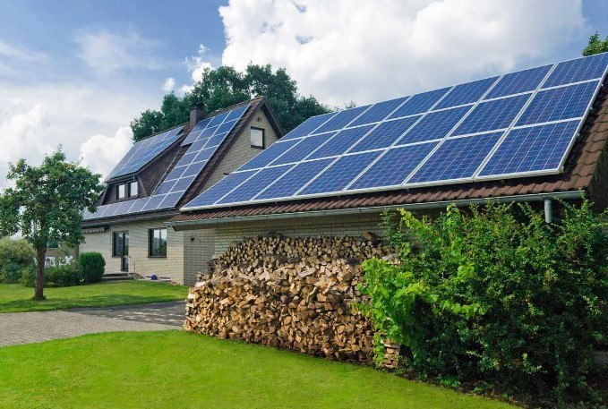 Гибридное  солнечная электростанция на 15 кВт/час
