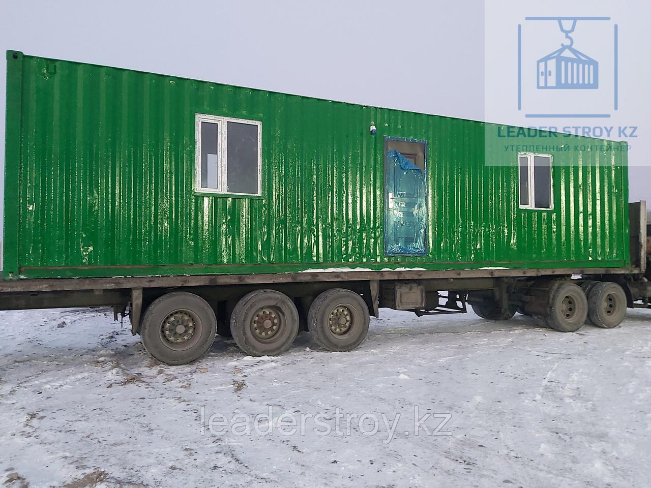 Модульное офисное здание из 40 футового контейнера