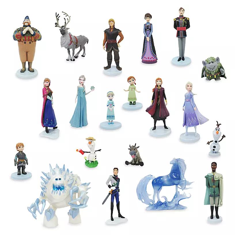 Игровой набор - 20 фигурок с героями «Холодное сердце»