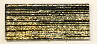 Декор ярко малиновый золото-полоска