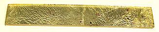 Декор ярко малиновый золото-патина