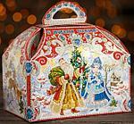 """Новогодний подарок """"Дед Мороз и Снегурочка"""" 1000 гр."""