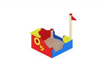 Песочница Кораблик мини