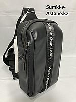 Мужская нагрудная сумка-кобура, спортивная модель. Высота 24 см, ширина 13 см, глубина 7 см., фото 1