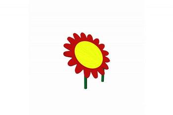 Навес для песочницы Цветок