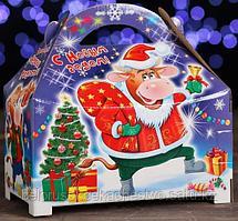 """Новогодний подарок """"Сундук с подарками"""" 1200 гр."""