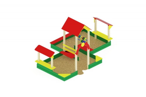 Песочный дворик большой