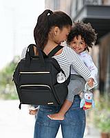 Сумка - рюкзак для мамы Mainframe Wide, черная (Skip Hop, США)