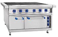 Плита электрическая 6 конфорок с жарочным шкафом Абат ЭП-6ЖШ