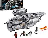 Конструктор аналог лего Мандалорец LEGO Star Wars The Mandalorian  75292 лепин KING 60017 Лезвие бритвы, фото 2